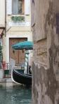 gondola around the corner
