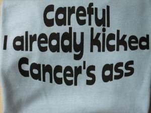 kicked cancer's ass